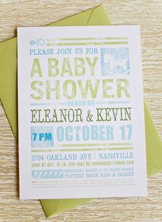 Shabby Chic Baby Shower Invitation DIY Printable by teaandpunch, $22.00