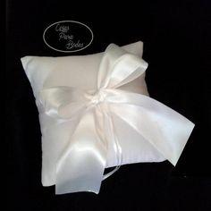 CO_145 Cojin Blanco para Anillos  #Bodas