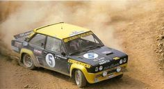 The Official Vintage rally photo thread! Sports Car Racing, Race Cars, 205 Turbo 16, Rally Raid, Fiat Cars, Fiat Abarth, Acropolis, Cars And Motorcycles, Peugeot