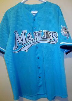 6ac7c52ece5 Vintage Diamond Collection Florida Marlins jersey