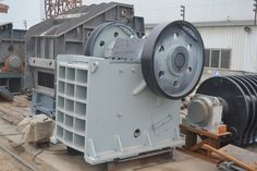 PE jaw crusher of DSMAC