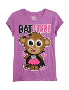 Short sleeve hooded top by Justice in size Burnout style with rhinestone embellishments. Halloween Bats, Halloween Town, Spirit Halloween, Girls Denim Shorts, Purple Shorts, Tomboy Outfits, Girly Outfits, Shirts For Leggings, Tee Shirts