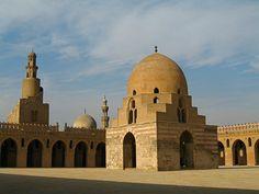 Ibn Tulun Mosque, Cairo, Egypt (9th Century)