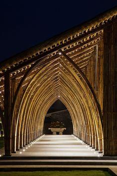 Galeria - Sala de Conferências Naman Retreat / Vo Trong Nghia Architects - 6