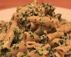 pastaschotel met spinazie en gehakt