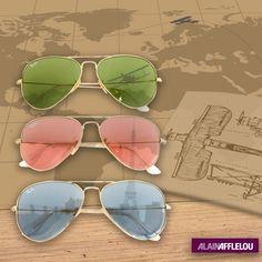 611dc8d34 Modelos exclusivos de #Ray-Ban #Aviator para Alain Afflelou #AlainAfflelou