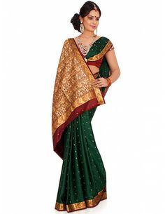 Imaginative Party Wear Saree Item code : SBC10B  http://www.bharatplaza.com/womens-wear/sarees/silk-sarees/imaginative-party-wear-saree-sbc10b.html