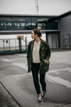 How to wear a military coat | style: simple, sexy, comfy, autumn, winter, sporty