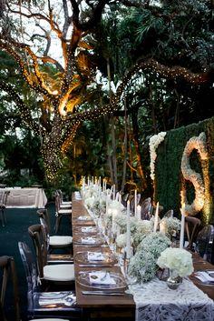 Al Fresco Black-Tie Glamour | Miami + Fort Lauderdale, FL
