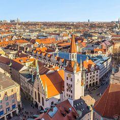 Old town view  Munich Germany  Photo : @mikecleggphoto Congrats!  #living_europe #munich #germany #deutschland #deutschland_greatshots #igersgermany #vscogermany #europe #stayandwander #beautifulplaces #abmtravelbug #lifewelltravelled #getoutstayout #tripnatics #goexplore #keepexploring #travel #traveladdict #loves_europe #cbviews #citybestpics #travelphotography #europe #city #cityscape #cityview #loves_landscape #igeurope #europa by living_europe