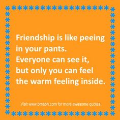 funny friendship quotes and sayings on wwwbmabhcom only you can feel