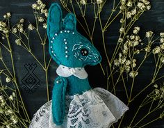 """Check out new work on my @Behance portfolio: """"Blue Hare Art Doll Toy OOAK OOAKDOLL OOAKTOY Embroidery"""" http://be.net/gallery/50517673/Blue-Hare-Art-Doll-Toy-OOAK-OOAKDOLL-OOAKTOY-Embroidery"""