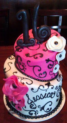 sweet sixteen cake pops   wedding cakes, cupcakes, cake pops, birthday cakes   Sweet Sixteen ...