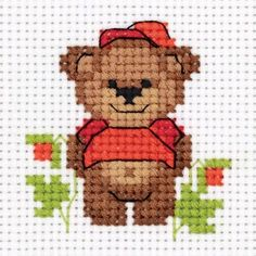 Baby Bear Cross Stitch Kit, You can cause really specific habits for materials with cross stitch. Cross stitch versions can very nearly amaze you. Cross stitch beginners may make the versions they desire without difficulty. Tiny Cross Stitch, Cross Stitch Fruit, Xmas Cross Stitch, Cross Stitch Letters, Cross Stitch Bookmarks, Cross Stitch Cards, Cross Stitch Borders, Simple Cross Stitch, Cross Stitch Animals