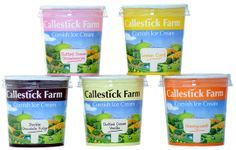 Callestick Farm Cornish Ice Cream Ltd #FDE2014