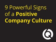 How to know your #Company has a #Positive #Culture !