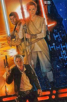 MINI [spoiler-free] REVIEW: STAR WARS: THE FORCE AWAKENS —After seeing this seventh installment in the saga… I bought another ticket to see it, again, the next day. Admittedly, I am a mega-fan and a sci-fi geek, but still… I've NEVER done that before, for any other film, which is saying something.– Steve Oatney Poster illustration by the legendary Drew Struzan. #StarWars #TheForceAwakens #StarWars7 #StarWarsVII #movies #film #SciFi #Disney