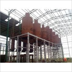 Structural Fabrication Work in Noida Pulp Mill, Fabrication Work, Space Frame, Stainless Steel Pipe, I Beam, Chemical Engineering, Surface Area, Machine Tools, Cement
