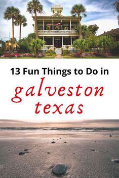 13 Super Fun Things to Do in Galveston Texas! Looking for some super fun things to do in Galveston Texas? Then this guide is for you! From the Strand to Galveston Beach and everything in between, check out this list to have a great time in Galveston! Galveston Texas Beach, Galveston Seawall, Galveston Cruise, Freeport Texas, Texas Beach Vacation, Texas Vacations, Mini Vacation, Boca Chica, Honeymoons