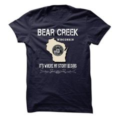 Bear Creek - Its Where My Story Begins! T-Shirts, Hoodies (23$ ==► Order Here!)