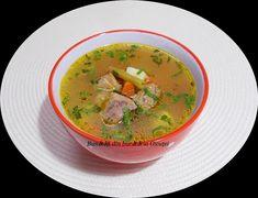 Bunătăți din bucătăria Gicuței: Supe/Ciorbe Stevia, Thai Red Curry, Goodies, Food And Drink, Meals, Cooking, Ethnic Recipes, Roman, Romanian Recipes