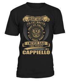 """# CAPPIELLO - I Nerver Said .  Special Offer, not available anywhere else!      Available in a variety of styles and colors      Buy yours now before it is too late!      Secured payment via Visa / Mastercard / Amex / PayPal / iDeal      How to place an order            Choose the model from the drop-down menu      Click on """"Buy it now""""      Choose the size and the quantity      Add your delivery address and bank details      And that's it!"""