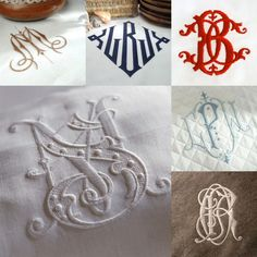 Monogram all of the things...