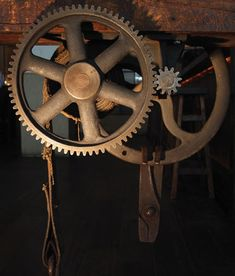 Kerry Ropper I have a deep love for gears.