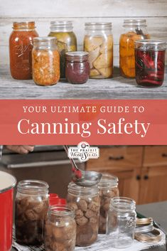 This Ultimate Guide to Canning Safety takes a closer look at botulism dangers, which dangerous canning methods you should avoid, the foods you may can, and more. Canning Soup Recipes, Pressure Canning Recipes, Canning Tips, Home Canning, Pressure Cooking, High Acid Foods, Canned Meat, Canned Foods, Low Acid Recipes