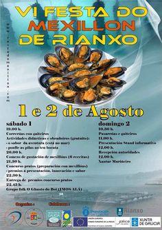 Festa do Mexillón - Rianxo (A Coruña) Mes de Agosto