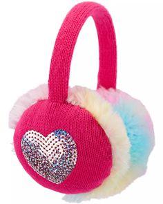 Heart Earmuffs | carters.com Tulle Headband, Headbands, Girls Tiara, Butterfly Mask, Carter Kids, Outfit Maker, Earmuffs, Daughter Love, Accessories