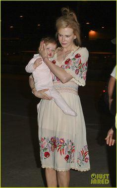 Nicole Kidman's Hungarian embroidery dress