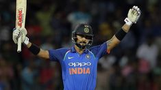 Virat Kohli named Indian cricketer of the year AFP On Jun 2018 29 Years Old, Virat Kohli, Number One, Cricket, Jun, Football Helmets, The Past, Indian, Sports