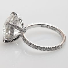 """Band and setting.... Perfection. Slap at least 3.5 carats  and were thereeeee  """"Preciosa"""" ring - Solitaire - Engagement"""