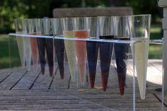 wine flights at Kluge Estate Winery