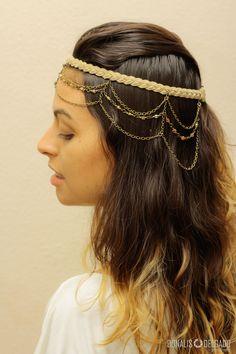 Headpiece cristais. #boho #gipsy .Lady Tree Store, Uberlândia, MG. www.ladytreedesign.com. @ladytreedesign