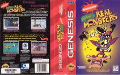 sega genesis AAAHH!!! Real Monsters video game