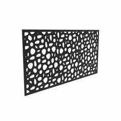 Barrette Outdoor Living 2 ft. H x 4 ft. W Sprig Composite Fencing & Reviews | Wayfair Barrette, Outdoor Rooms, Outdoor Living, Composite Fencing, Metal Fence Panels, Decorative Screen Panels, Decorative Metal, Outdoor Screens, Privacy Screens
