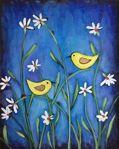 Canaries & Daisies