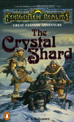 #drow-elf  Drizzt /Forgotten Realms This trilogy is fantastic. The Drizzt #Novels: The Crystal Shard by R.A. Salvatore