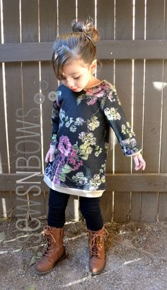 Floral Sweatshirt Dress: A Ruffled PJ Pattern Hack