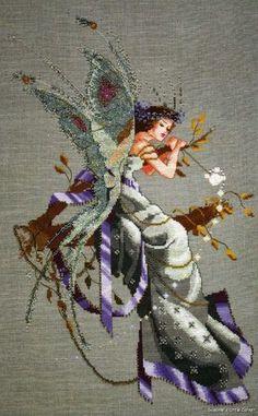 A Midsummer Night's Fairy Mirabilia Counted Cross Stitch Pattern Nora Corbett | eBay