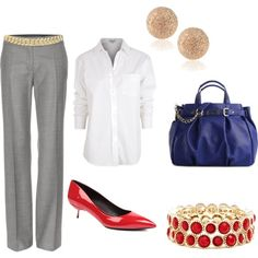 """""""Work Outfit 7"""" by careharper on Polyvore"""