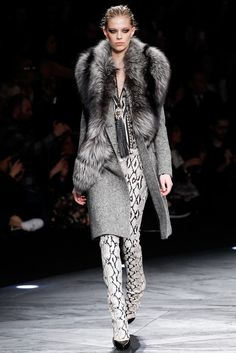 Roberto Cavalli Fall 2014 Ready-to-Wear Fashion Show - Lexi Boling