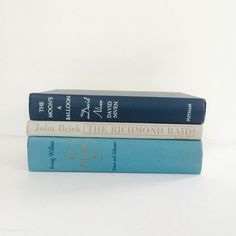A personal favorite from my Etsy shop https://www.etsy.com/listing/224450591/vintage-old-books-decoration-hardcover