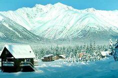 Alyeska Ski Resort Winter Cabins Girdwood Alaska