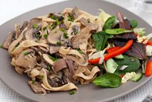 Garlic mushroom tagliatelle – Recipes – Slimming World