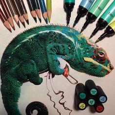 Karla Mialynne revela las herramientas que utiliza junto a sus increíbles dibujos realistas | FuriaMag | Arts Magazine