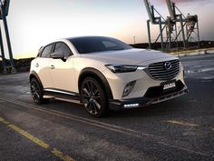 Mazda CX-3 Gets Aggressive Body Kit from DAMD, Looks Like NFS Racer - autoevolution for Mobile