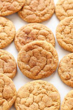 Snickerdoodle Pumpkin Cookies